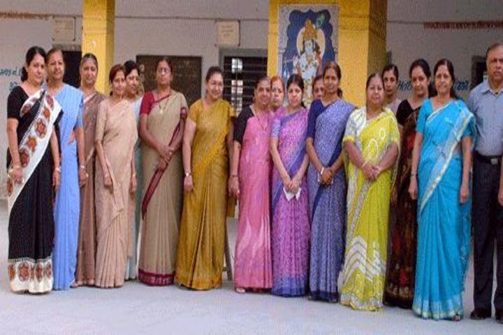 Mahatma Gandhi High School-Staff