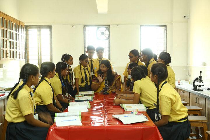 Shree Narayan English Medium School-Biology Lab