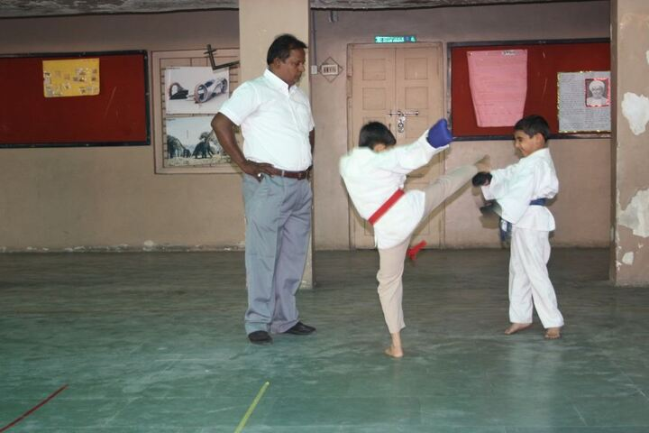 Sri Mirambika School-Karate
