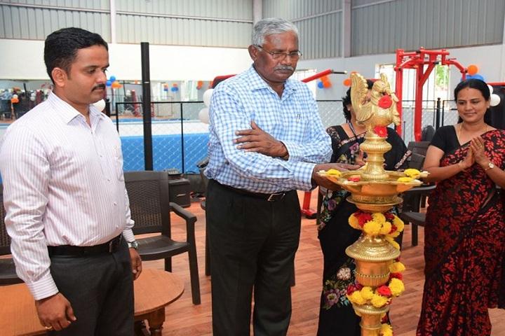 Acharya Pre University College-Lighting The Lamp