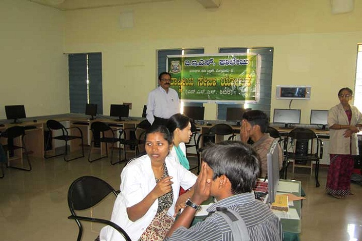 BES Evening PU College of Arts And Commerce-Medical Camp