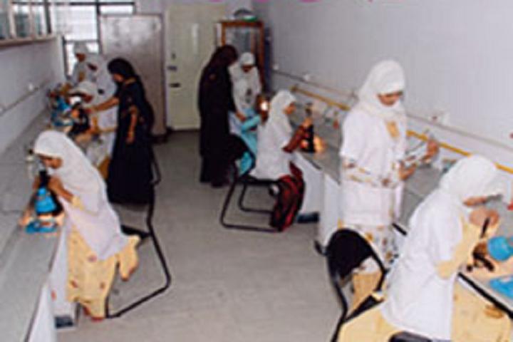 Jame Ul Uloom Pre University College for Girls-Biology Lab