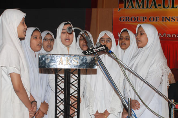 Jame Ul Uloom Pre University College for Girls-Group Sining