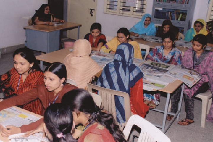 Jame Ul Uloom Pre University College for Girls-Library