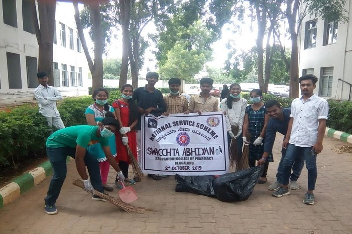 Krupanidhi Residential Pre University College-Cleaning The Campus