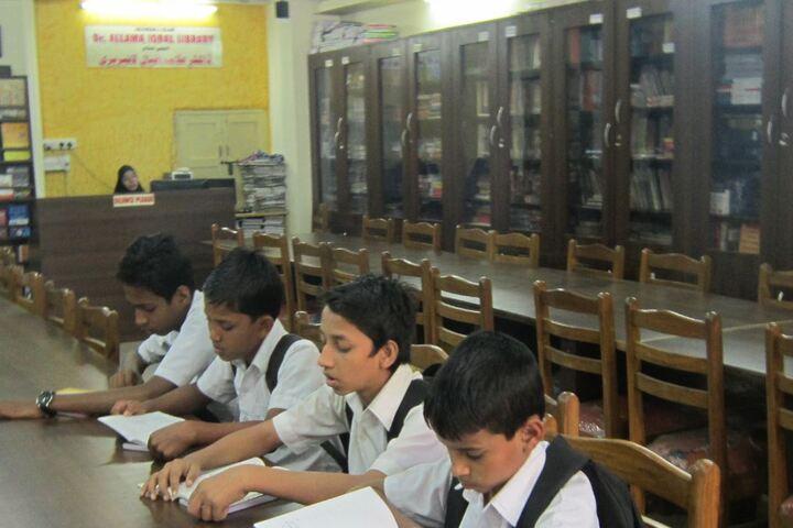 Anjuman I Islam s Badruddin Tyabji Urdu High SchoolLibrary