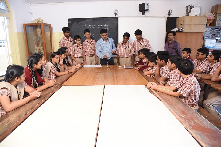 MES Kishora Kendra School-Laboratory