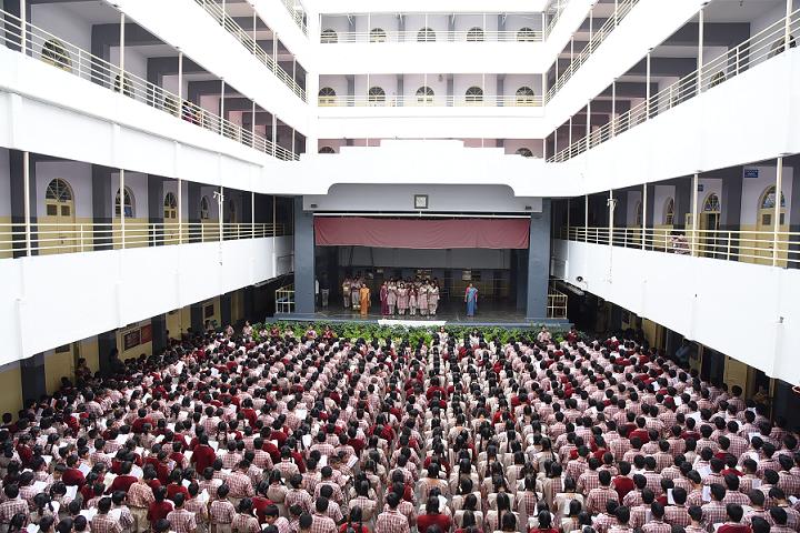 MES Kishora Kendra School-Player Hall