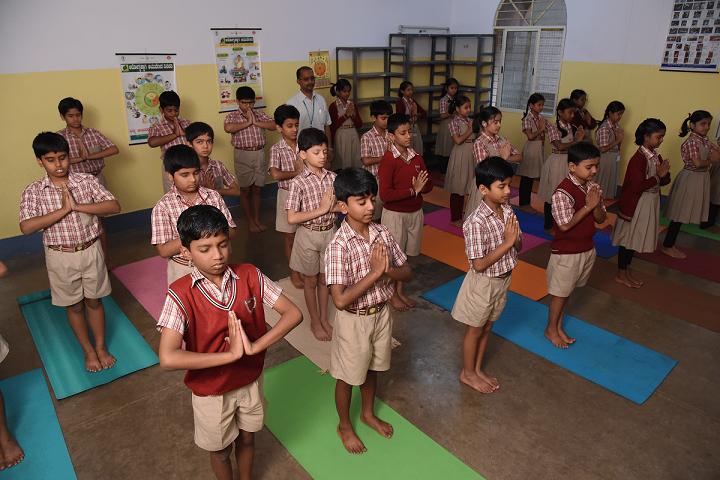 MES Kishora Kendra School-Yoga