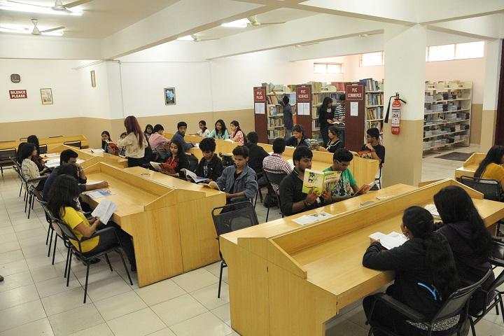 New Horizon Pre-University College-Library