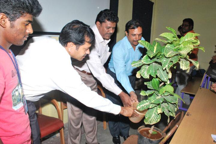 Rajajinagar Pre University College-Tree Plantation