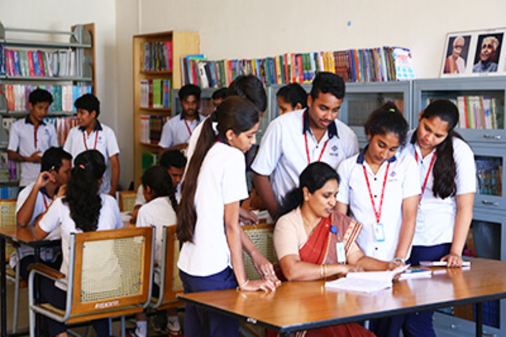 Reva Independent PU College-Library