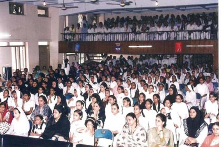 Anjuman I Islam S Saif Tyabji Girls High School And Junior College-Auditorium