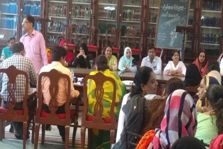 Anjuman I Islams Mustafa Fakih High School and Junior College-Library