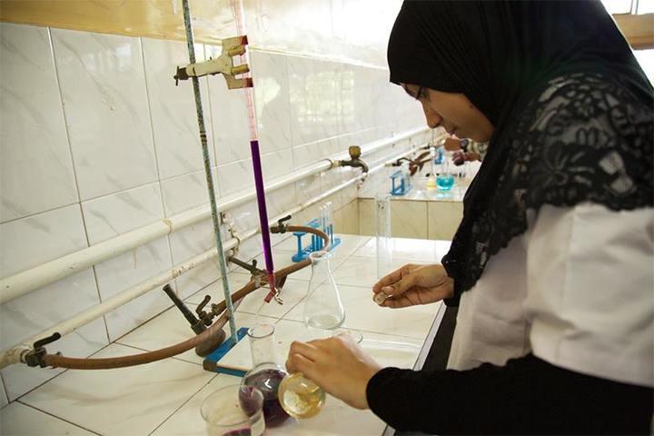 Anjuman I Islams Mustafa Fakih High School and Junior College-Science Lab