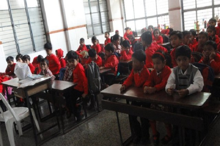 Holy Cross Senior Secondary School-Classroom