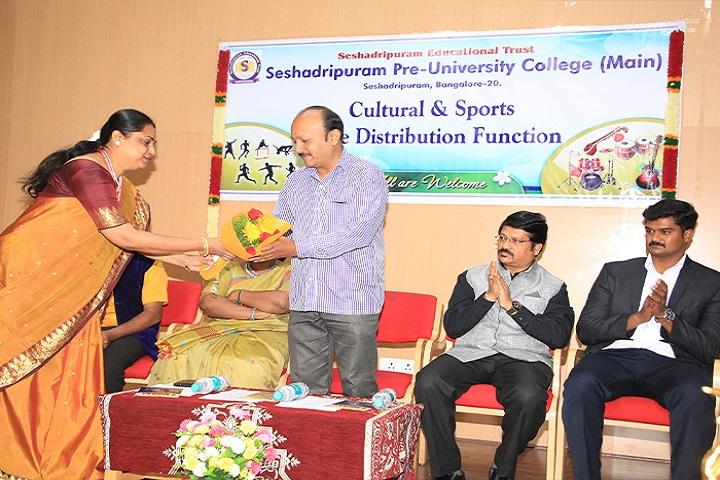 Seshadripuram Pre University College, Bengaluru, Bangalore