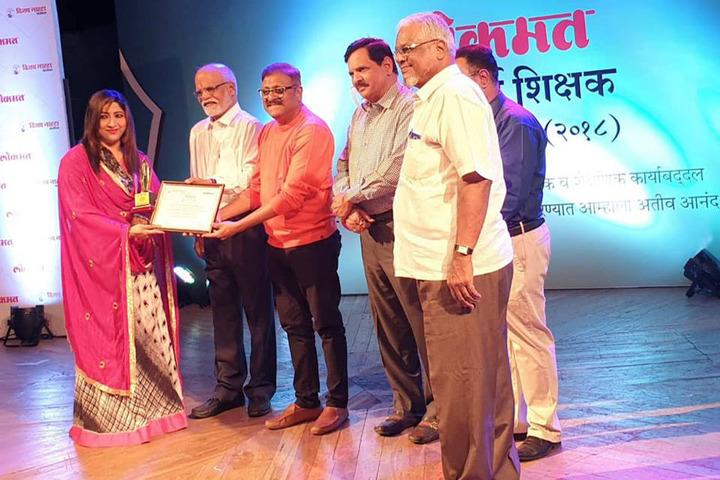 Anjuman I Islams Abdul Azim Khatkhatay English Secondary School-Award