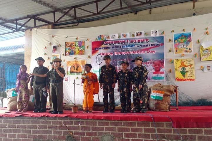 Anjuman I Islams Abdul Azim Khatkhatay English Secondary School-Independence Day