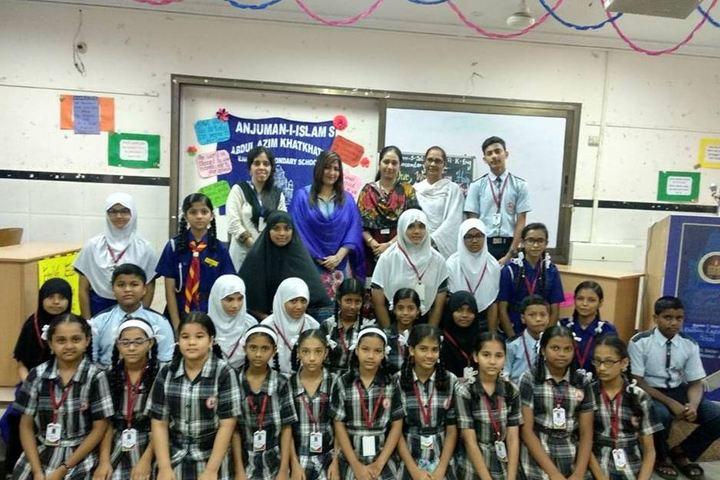 Anjuman I Islams Abdul Azim Khatkhatay English Secondary School-Teachers Day