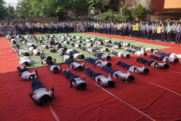 Holy Hearts Education Academy-Yoga-Day