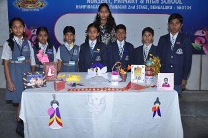Camlin English School-Art and Craft Exhibition