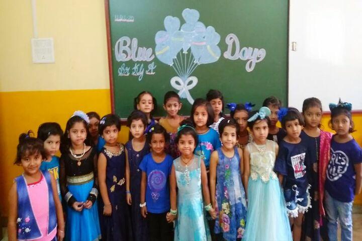 Tilak International School-Blue Day