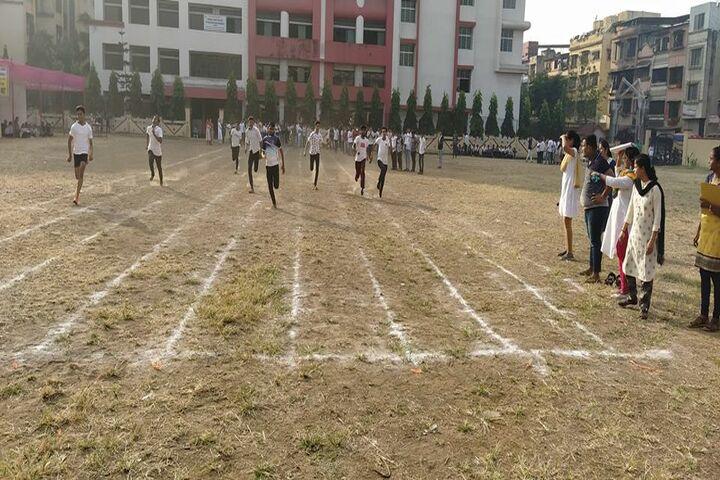 Tilak International School-Running Race