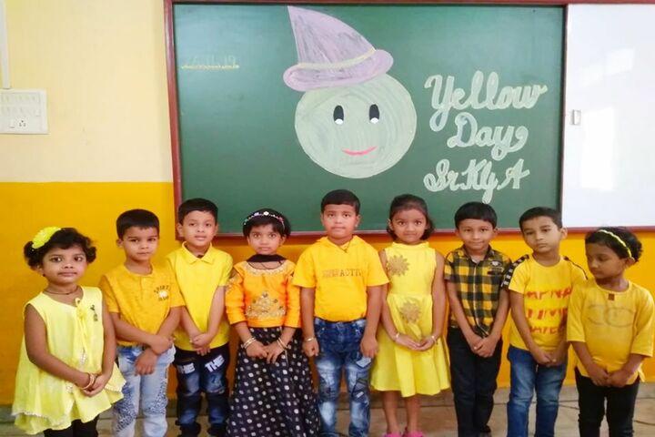 Tilak International School-Yellow Day