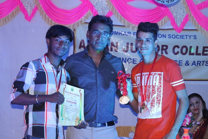 Aryan Junior College-Winners