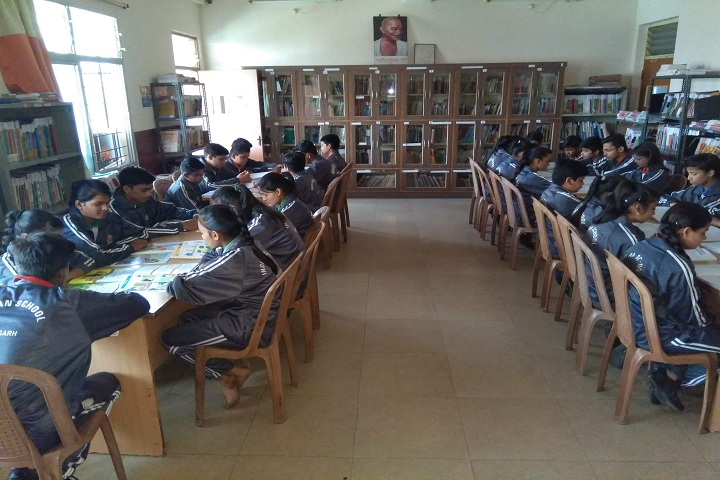 Indian School-Library