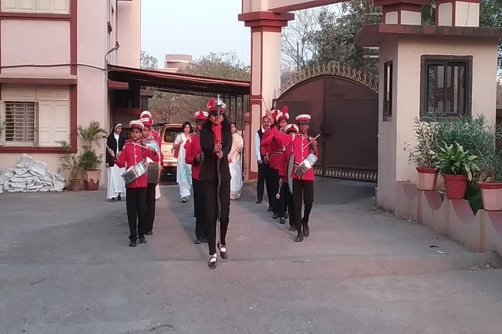 St Therese Convent High School-Band Troop