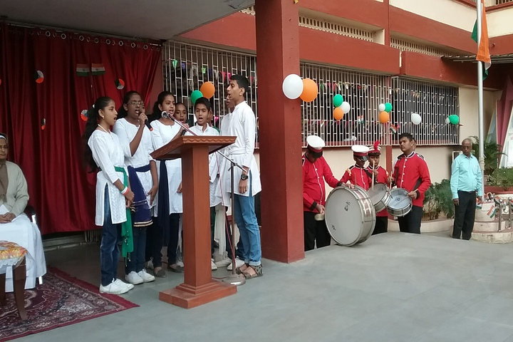 St Therese Convent High School-Group Singing