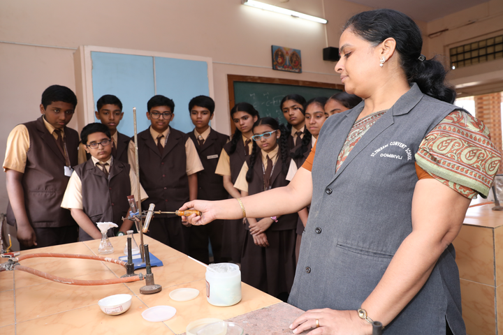 St Therese Convent High School-Science Lab