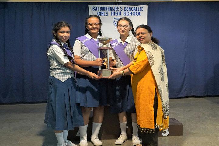 Bai Bhikhaijee Shapoorjee Bengallee Girls High School-Acheviement