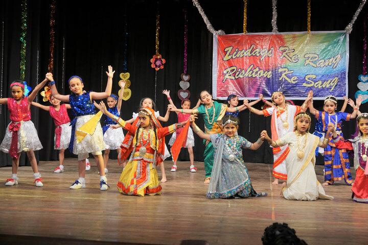 Bai Bhikhaijee Shapoorjee Bengallee Girls High School-Dance