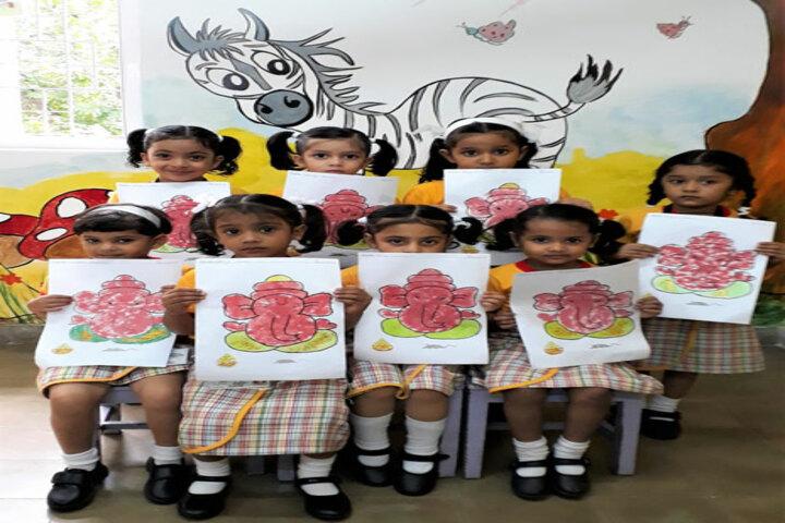 Bai Bhikhaijee Shapoorjee Bengallee Girls High School-Drawing