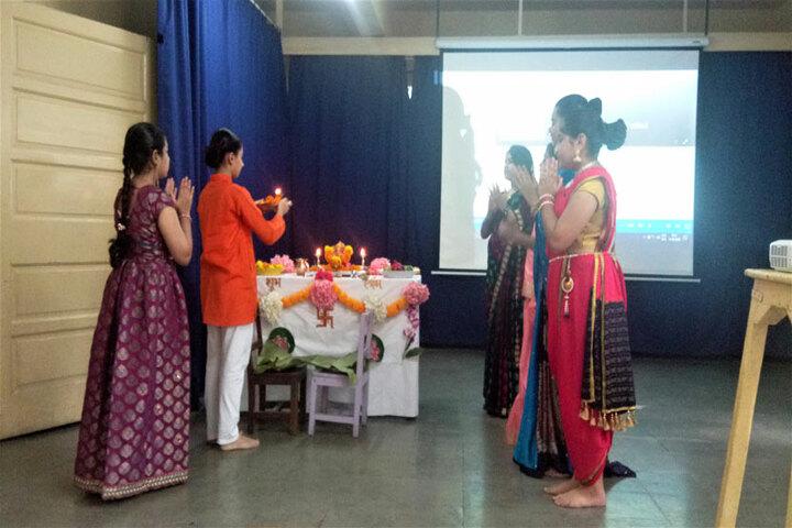 Bai Bhikhaijee Shapoorjee Bengallee Girls High School-Ganesh Celebration1