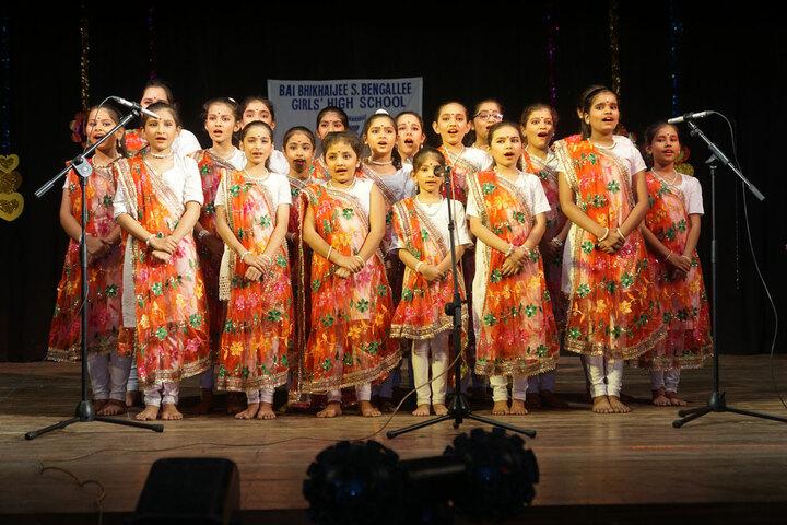 Bai Bhikhaijee Shapoorjee Bengallee Girls High School-Singing