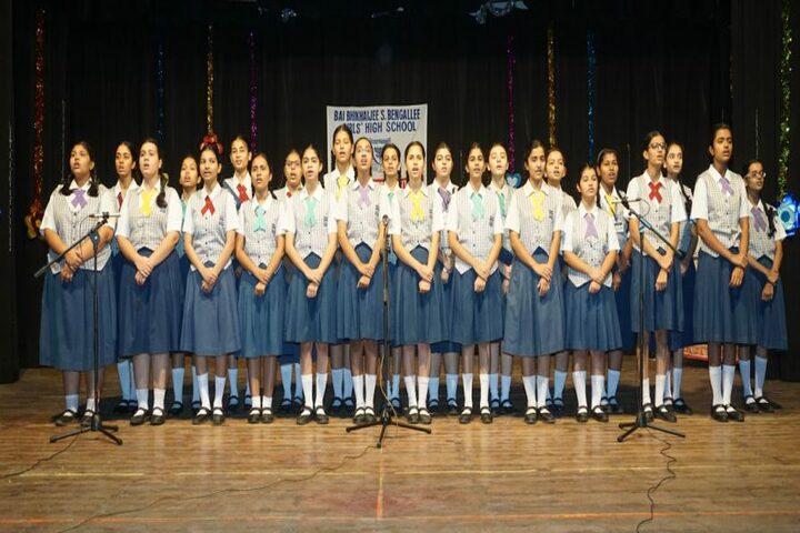 Bai Bhikhaijee Shapoorjee Bengallee Girls High School-Students