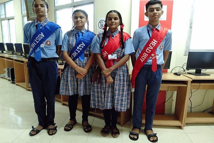 Bharat Education Societys Karthika High School and Junior College-Investiture Ceremony