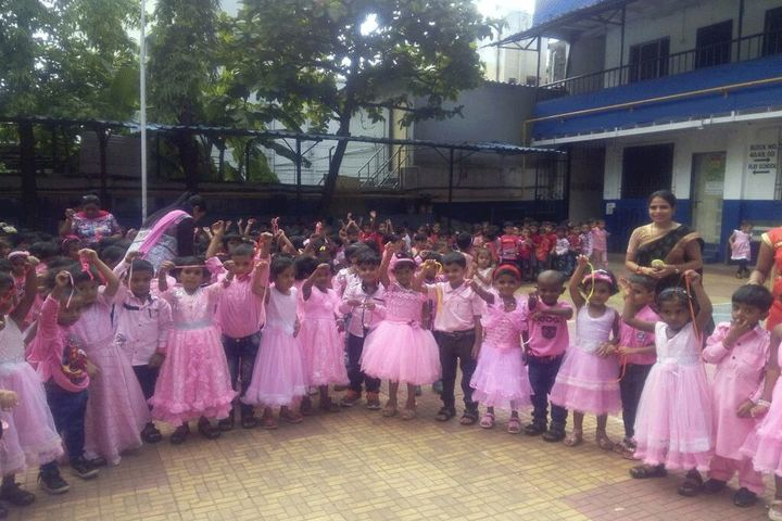 Bharat Education Societys Karthika High School and Junior College-Pink Day