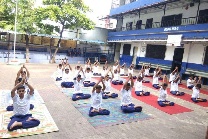 Bharat Education Societys Karthika High School and Junior College-Yoga Day