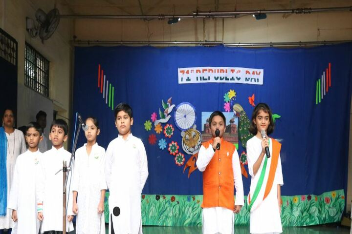 St Sebastian Goan High School-Group Singing