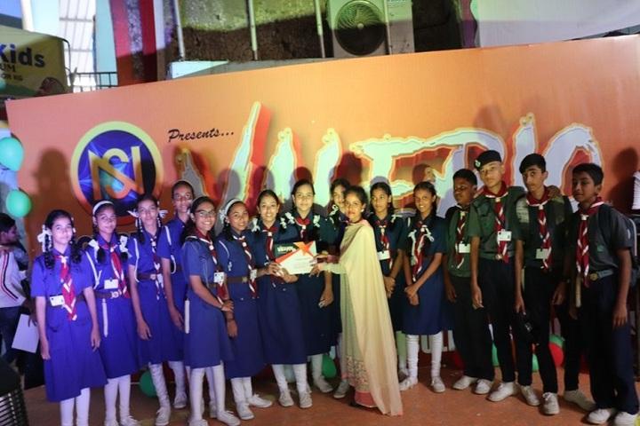 Bharat English High School and Junior College-Award