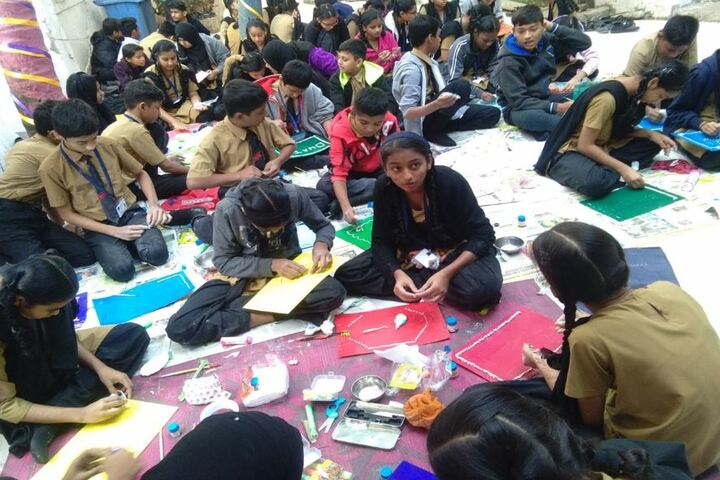 Bharat English High School and Junior College-Drawing ACtivity