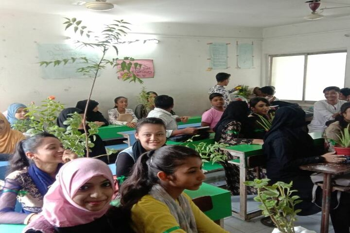 Bharat English High School and Junior College-Environment Day