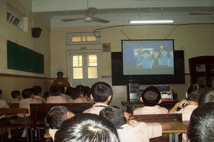 The Blossom Sunderbai Thackersey English High School-AV Room