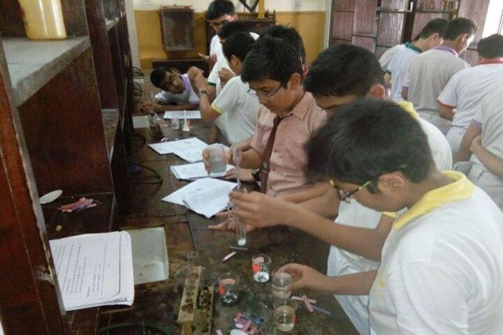 The Blossom Sunderbai Thackersey English High School-Chemsitry Lab