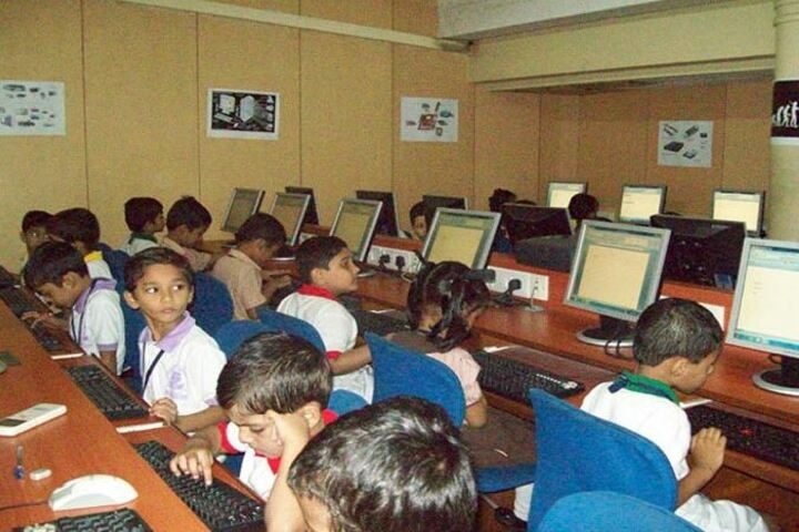 The Blossom Sunderbai Thackersey English High School-Computer Lab